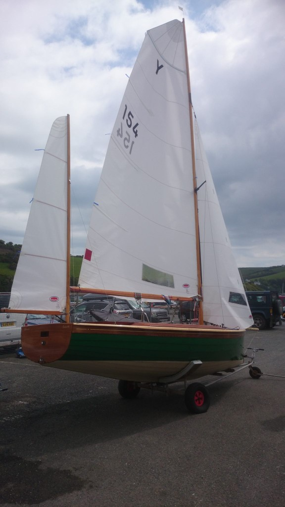 Racing Salcombe Yawl sails Rowsell sails